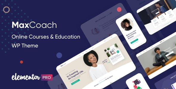 Download MaxCoach  – Online Courses & Education wordpress themes gpl licenced not nulled not cracked for free