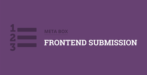 Download Meta Box Frontend Submission Extension Wordpress Plugins gpl licenced not nulled not cracked for free