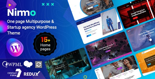 Download Nimmo  – One page WordPress Theme wordpress themes gpl licenced not nulled not cracked for free