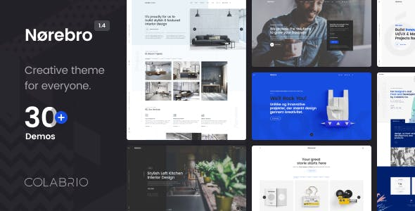 Download Norebro  – Creative Portfolio Theme wordpress themes gpl licenced not nulled not cracked for free