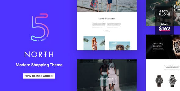 Download North  – Responsive WooCommerce Theme wordpress themes gpl licenced not nulled not cracked for free