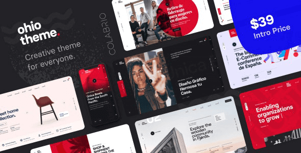Download Ohio  – Creative Portfolio & Agency Theme wordpress themes gpl licenced not nulled not cracked for free