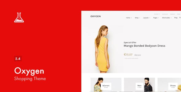Download Oxygen  – WooCommerce WordPress Theme wordpress themes gpl licenced not nulled not cracked for free