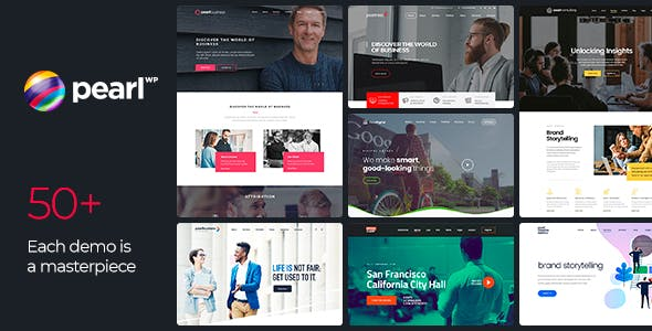 Download Pearl  – Corporate Business Theme wordpress themes gpl licenced not nulled not cracked for free