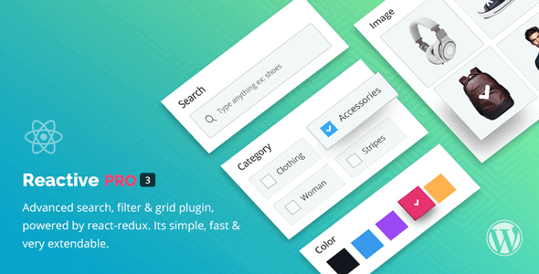 Download Reactive Search Pro  – Search Filter Map & Grid Wordpress Plugins gpl licenced not nulled not cracked for free