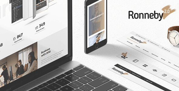Download Ronneby  – High-Performance WP Theme wordpress themes gpl licenced not nulled not cracked for free