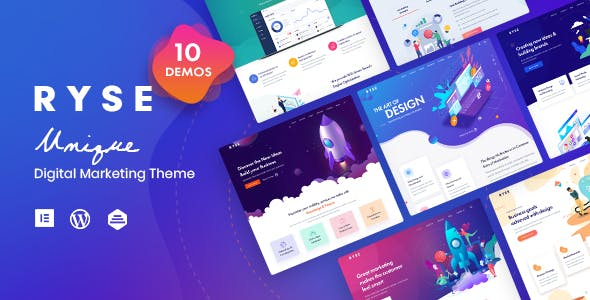 Download Ryse  – SEO & Digital Marketing Theme wordpress themes gpl licenced not nulled not cracked for free