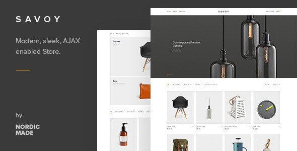 Download Savoy  – Minimalist WooCommerce Theme wordpress themes gpl licenced not nulled not cracked for free