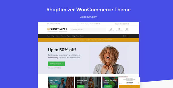 Download Shoptimizer  – Fastest WooCommerce Theme wordpress themes gpl licenced not nulled not cracked for free