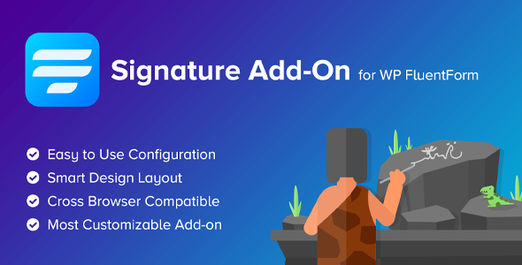 Download Signature Add-On  for WP Fluent Forms Wordpress Plugins gpl licenced not nulled not cracked for free