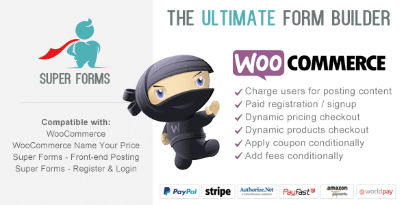 Download Super Forms – WooCommerce Checkout Wordpress Plugins gpl licenced not nulled not cracked for free