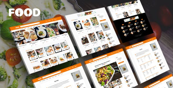 Download Tasty Food  – Recipes & Blog WordPress Theme wordpress themes gpl licenced not nulled not cracked for free