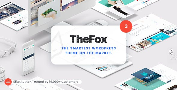 Download TheFox  – Multi-Purpose WordPress Theme wordpress themes gpl licenced not nulled not cracked for free