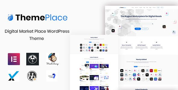 Download ThemePlace  – Marketplace WordPress Theme wordpress themes gpl licenced not nulled not cracked for free