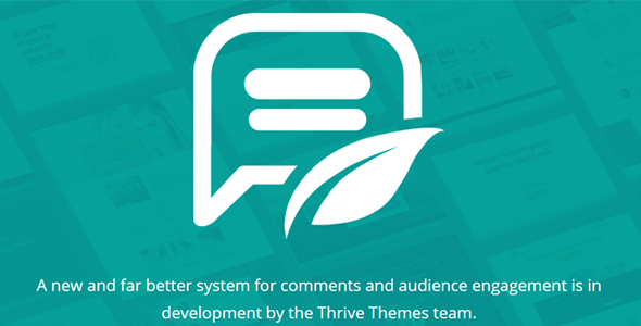 Download Thrive Themes Comments WordPress Plugin Wordpress Plugins gpl licenced not nulled not cracked for free