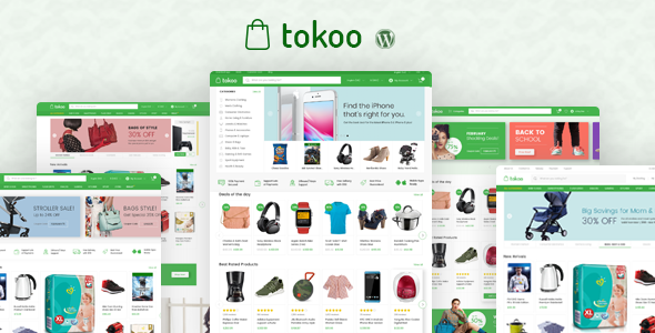 Download Tokoo  – Dropship & Multi-vendor Theme wordpress themes gpl licenced not nulled not cracked for free