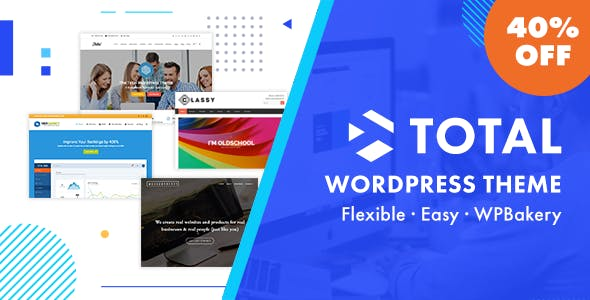 Download Total  – Multi-Purpose WordPress Theme wordpress themes gpl licenced not nulled not cracked for free