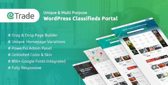 Download Trade  – Modern Classified Ads Theme wordpress themes gpl licenced not nulled not cracked for free
