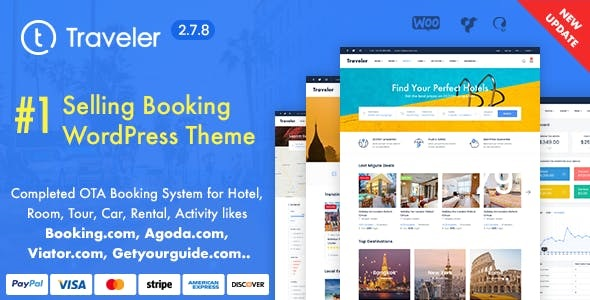 Download Travel Booking WordPress Theme wordpress themes gpl licenced not nulled not cracked for free