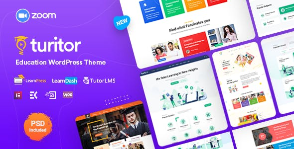 Download Turitor  – LMS & Education WordPress Theme wordpress themes gpl licenced not nulled not cracked for free