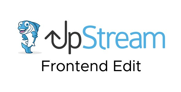 Download UpStream Frontend Edit Extension Wordpress Plugins gpl licenced not nulled not cracked for free