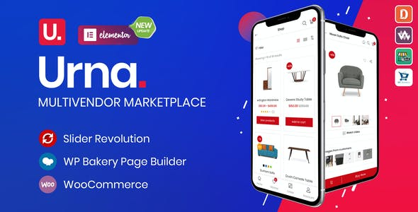 Download Urna  – All-in-one WooCommerce Theme wordpress themes gpl licenced not nulled not cracked for free