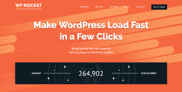 Download WP Rocket  –  Make WordPress Load Fast Wordpress Plugins gpl licenced not nulled not cracked for free