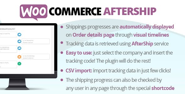 Download WooCommerce AfterShip Plugin Wordpress Plugins gpl licenced not nulled not cracked for free