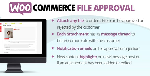 Download WooCommerce File Approval Wordpress Plugins gpl licenced not nulled not cracked for free