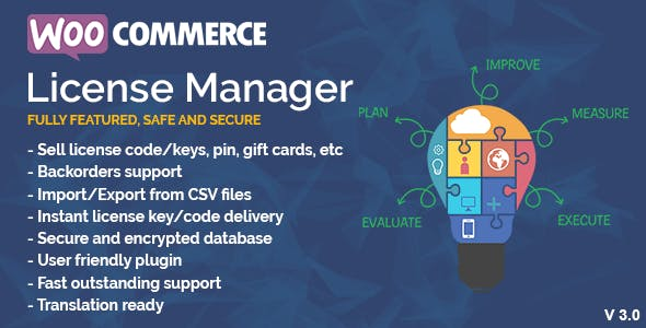 Download WooCommerce License Manager Wordpress Plugins gpl licenced not nulled not cracked for free