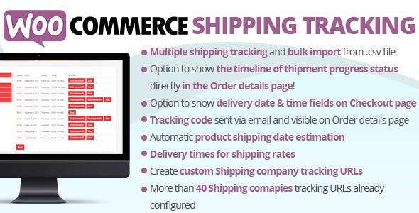 Download WooCommerce Shipping Tracking Wordpress Plugins gpl licenced not nulled not cracked for free