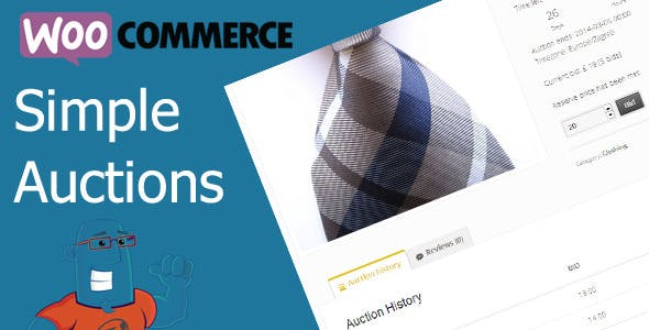 Download WooCommerce Simple Auctions Wordpress Plugins gpl licenced not nulled not cracked for free