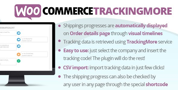 Download WooCommerce TrackingMore Wordpress Plugins gpl licenced not nulled not cracked for free