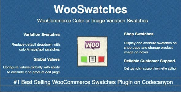 Download WooSwatches  – Variation Swatches Wordpress Plugins gpl licenced not nulled not cracked for free