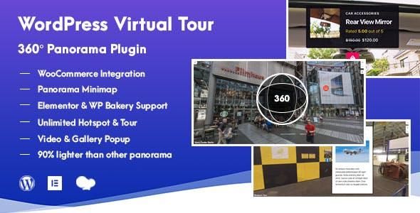 Download WordPress Virtual Tour  Panorama Plugin Wordpress Plugins gpl licenced not nulled not cracked for free