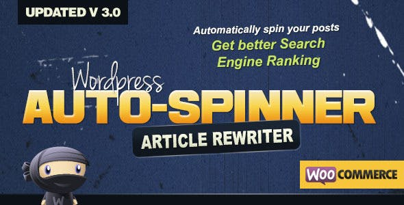 Download WordPress Auto Spinner Wordpress Plugins gpl licenced not nulled not cracked for free
