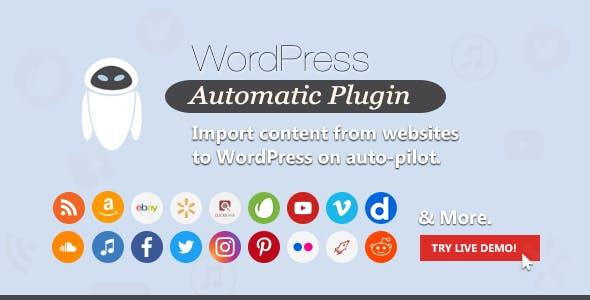 Download WordPress Automatic Plugin Wordpress Plugins gpl licenced not nulled not cracked for free