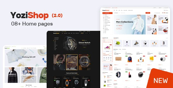 Download Yozi  – Electronics WooCommerce Theme wordpress themes gpl licenced not nulled not cracked for free