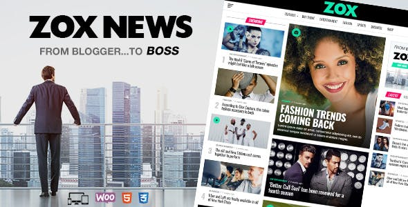 Download Zox News  – News & Magazine Theme wordpress themes gpl licenced not nulled not cracked for free