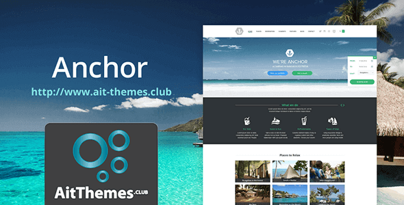 Download AIT Anchor WordPress Theme wordpress themes gpl licenced not nulled not cracked for free