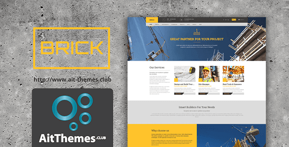 Download AIT Brick WordPress Theme wordpress themes gpl licenced not nulled not cracked for free