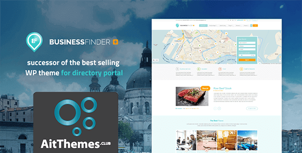 Download AIT BusinessFinder+ WordPress Theme wordpress themes gpl licenced not nulled not cracked for free