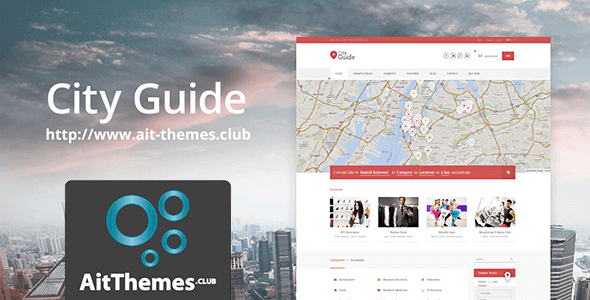 Download AIT City Guide WordPress Theme wordpress themes gpl licenced not nulled not cracked for free