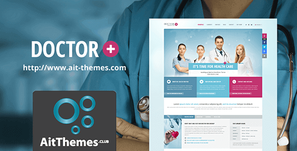 Download AIT Doctor+ WordPress Theme wordpress themes gpl licenced not nulled not cracked for free