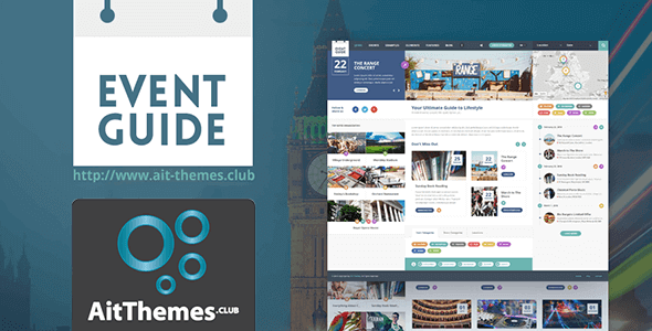 Download AIT Event Guide WordPress Theme wordpress themes gpl licenced not nulled not cracked for free