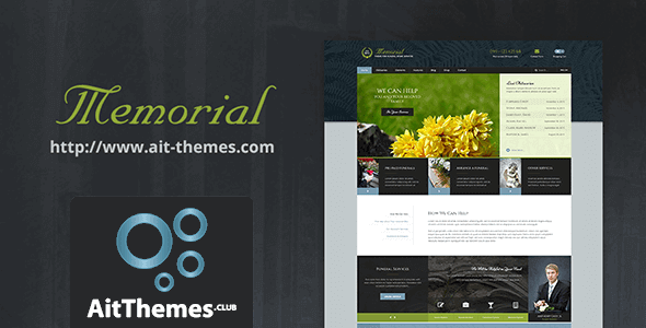 Download AIT Memorial WordPress Theme wordpress themes gpl licenced not nulled not cracked for free