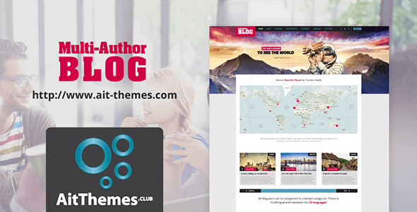 Download AIT Blog WordPress Theme wordpress themes gpl licenced not nulled not cracked for free