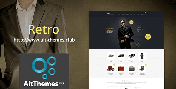 Download AIT Retro WordPress Theme wordpress themes gpl licenced not nulled not cracked for free