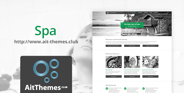Download AIT Spa WordPress Theme wordpress themes gpl licenced not nulled not cracked for free