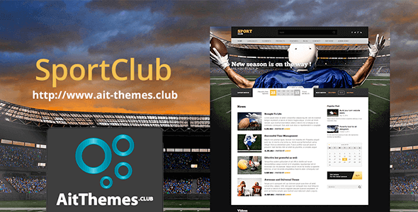 Download AIT SportClub WordPress Theme wordpress themes gpl licenced not nulled not cracked for free